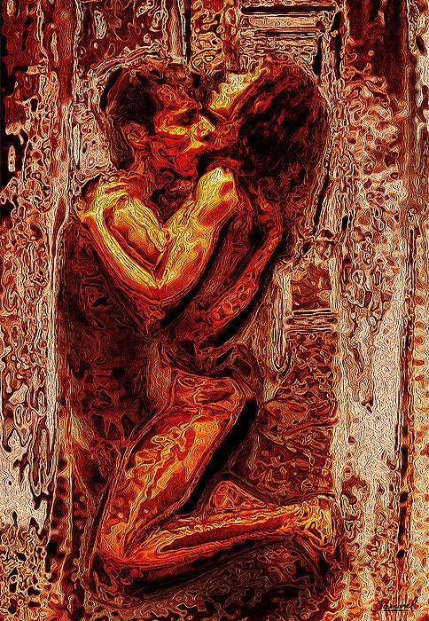 Fire of Love Digital Art