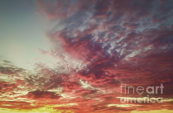 Fire Sky Print by Holly Martin