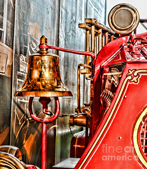 Fireman - The Fire Bell Print by Paul Ward