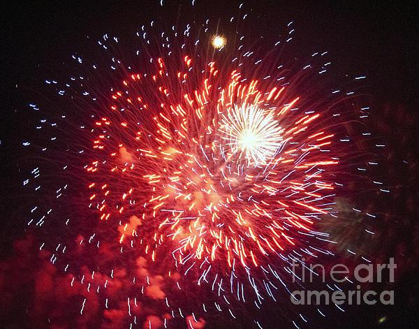 Fireworks 1 Print by Leslie Cruz