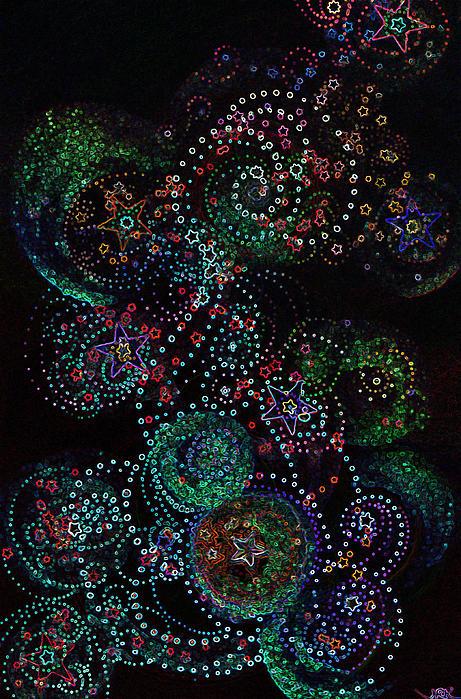 Fireworks Celebration By Jrr Print by First Star Art