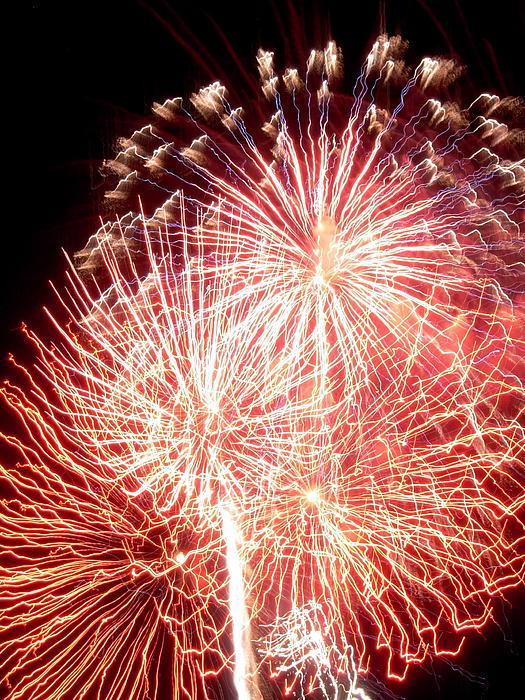 Fireworks Print by Joseph Norniella