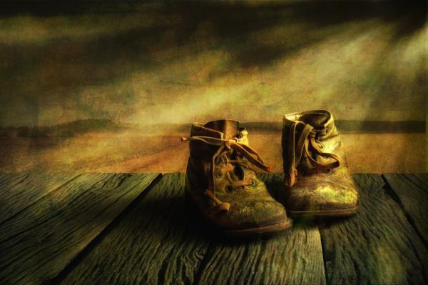 First Shoes Print by Veikko Suikkanen