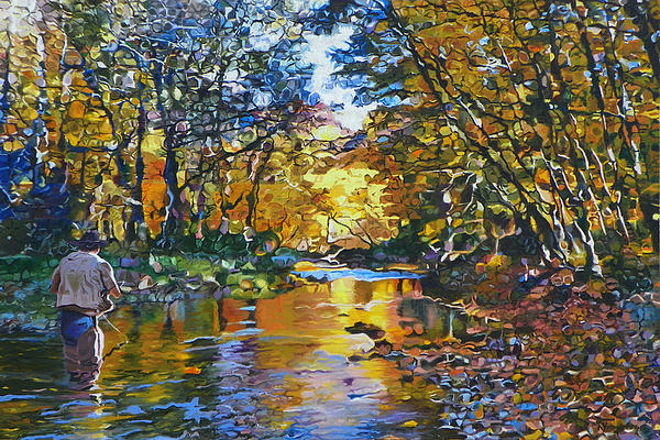 Fisherman's Dream Print by Kenneth Young