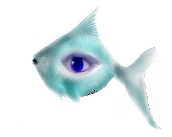 Fisheye Print by William  Paul Marlette