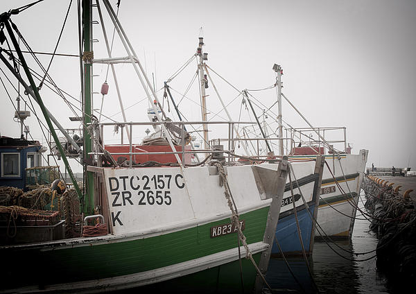 Fishing Boats Print by Tom Hudson