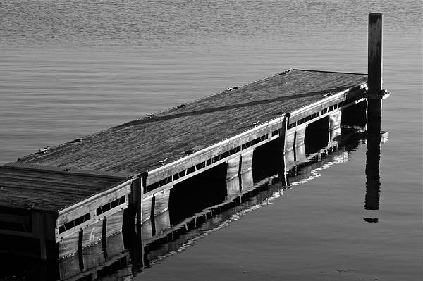 Fishing Dock Print by Frozen in Time Fine Art Photography