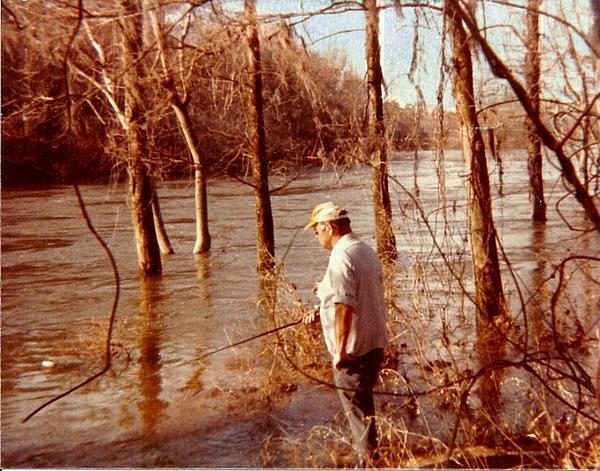 Sherry Gombert - Fishing the Fierce Flint River