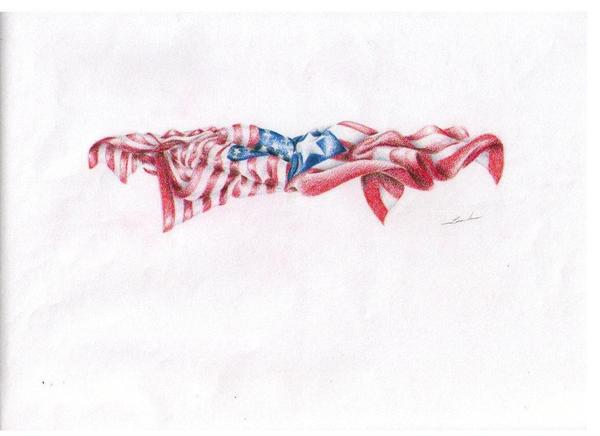 Flags Print by Garrett Wright