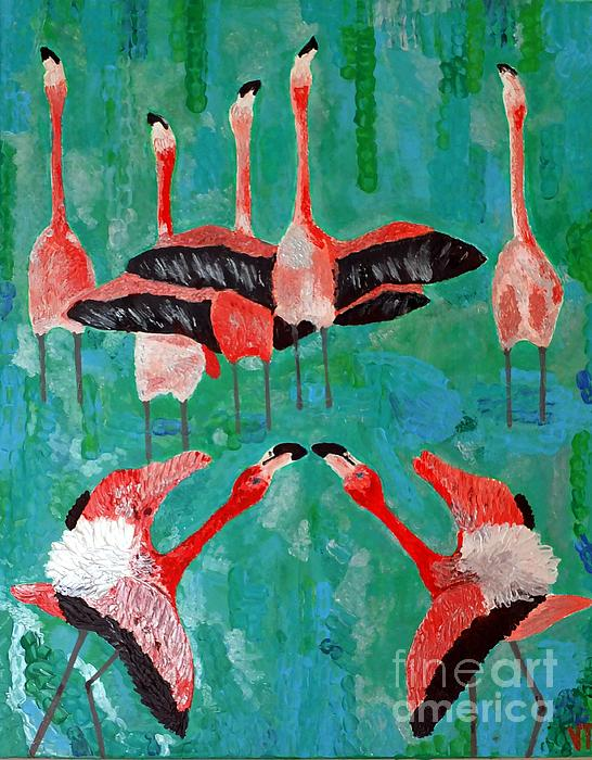 Vicky Tarcau - Flamingo 3