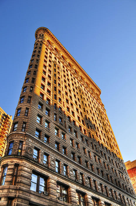 Flatiron Building Profile Too Print by Randy Aveille