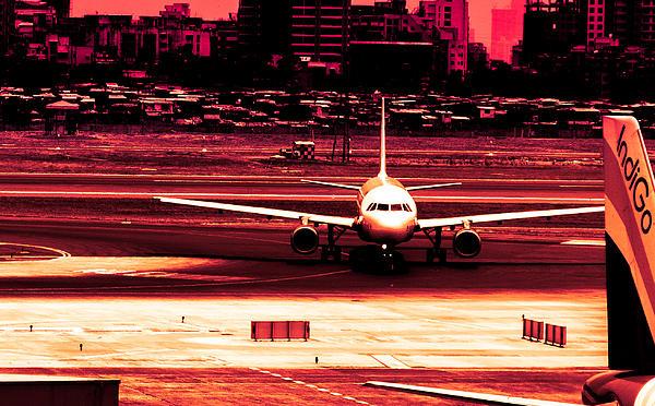 Flight Print by Arjun Jamil