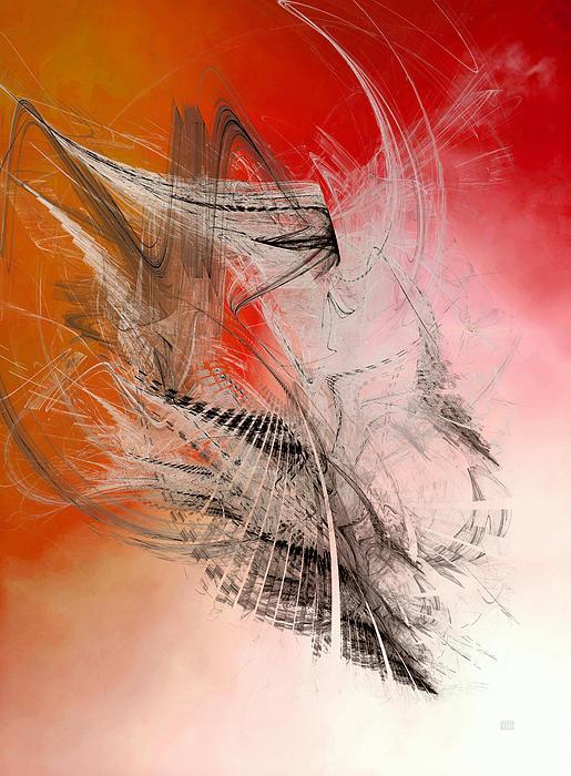 Flights Of Enthusiasm - Icarus Print by Menega Sabidussi