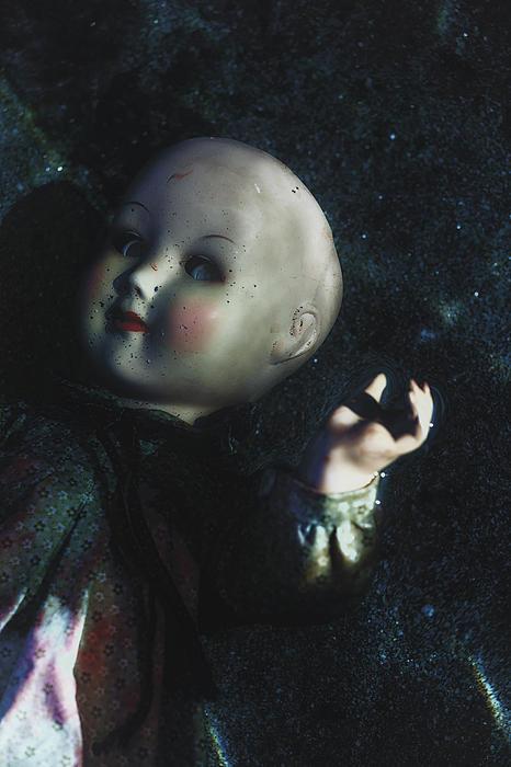 Floating Doll Print by Joana Kruse