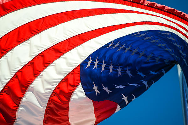 Mary Hahn Ward - Floating Flag