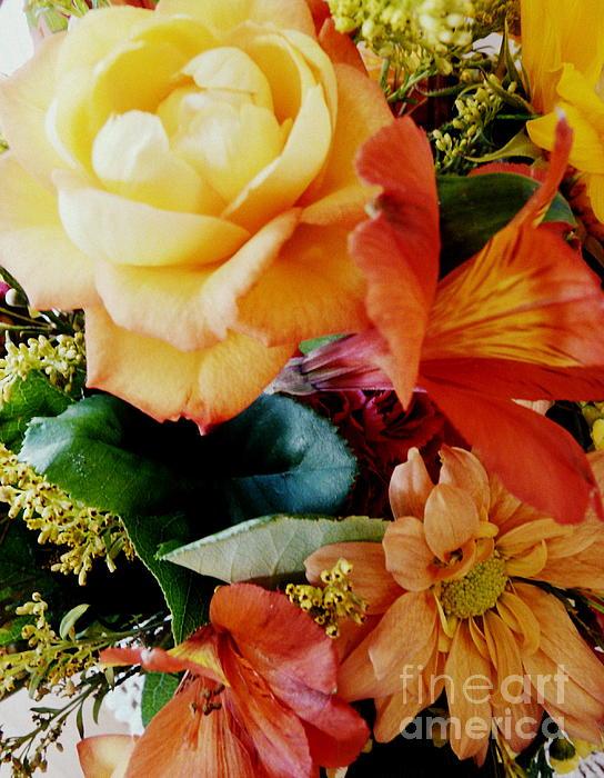 Floral Harmony Print by Avis  Noelle