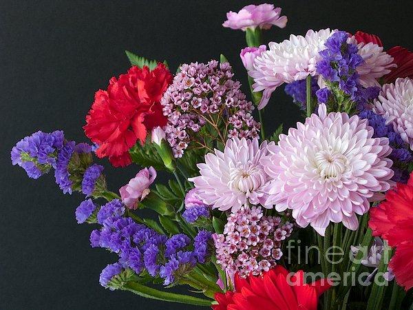 Floral Mix Print by Ann Horn