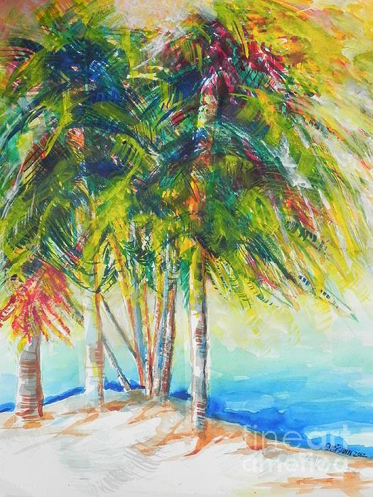 Florida Inspiration  Print by Chrisann Ellis