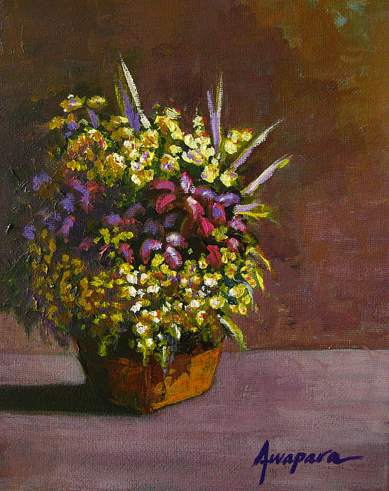 Flower arrangement Painting