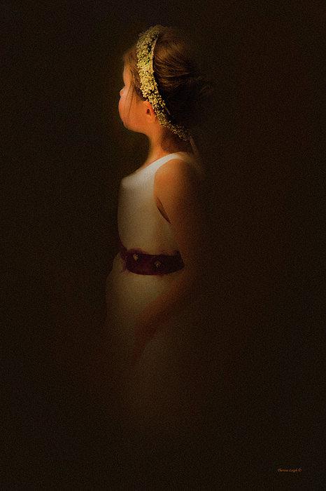 Flower Girl Print by Theresa Tahara
