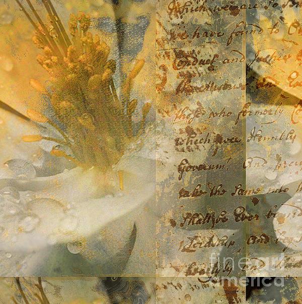 Flower II Print by Yanni Theodorou