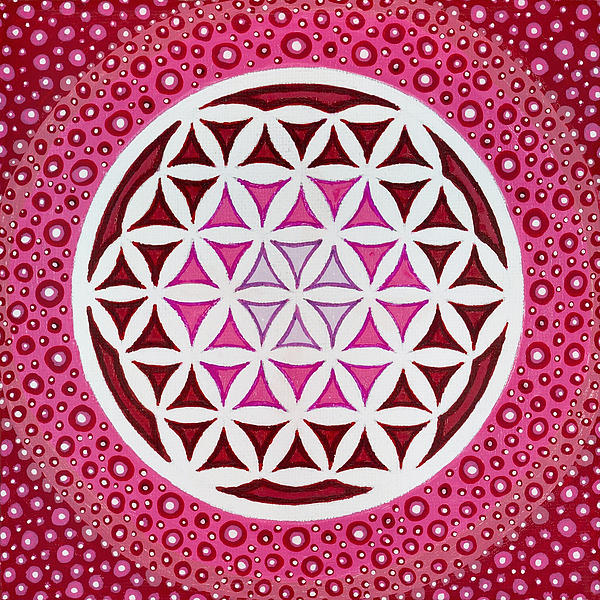 Flower Of Life Print by Christopher Sheehan