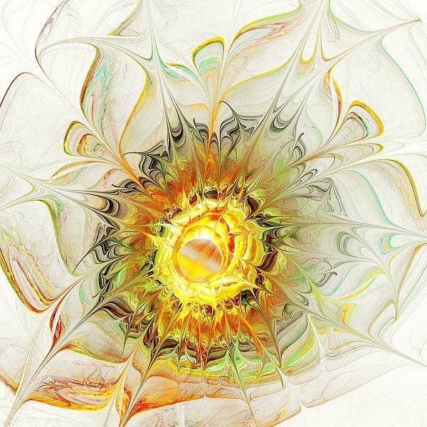 Flower Palette Print by Anastasiya Malakhova