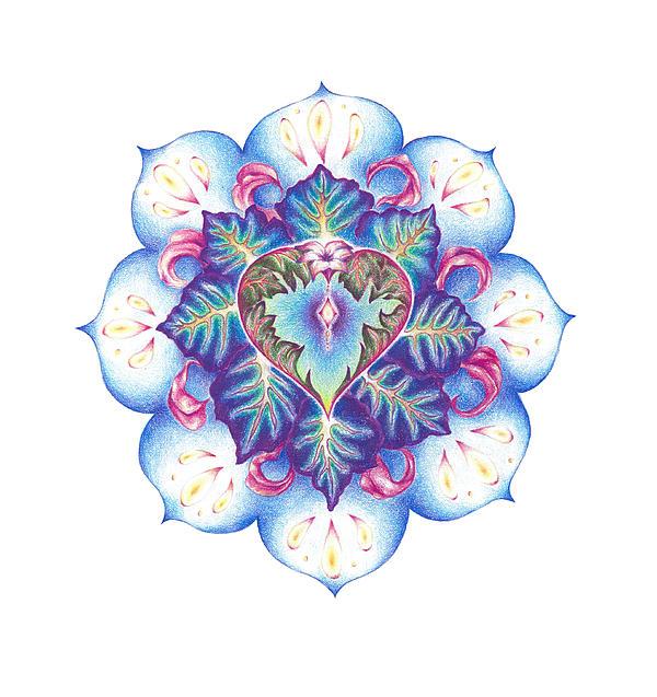 Lydia Erickson - Flowering of the Heart   oneness art