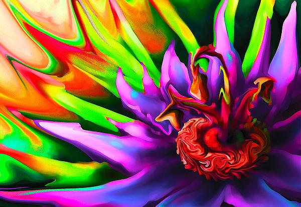 Flowerings Print by Bruce Iorio