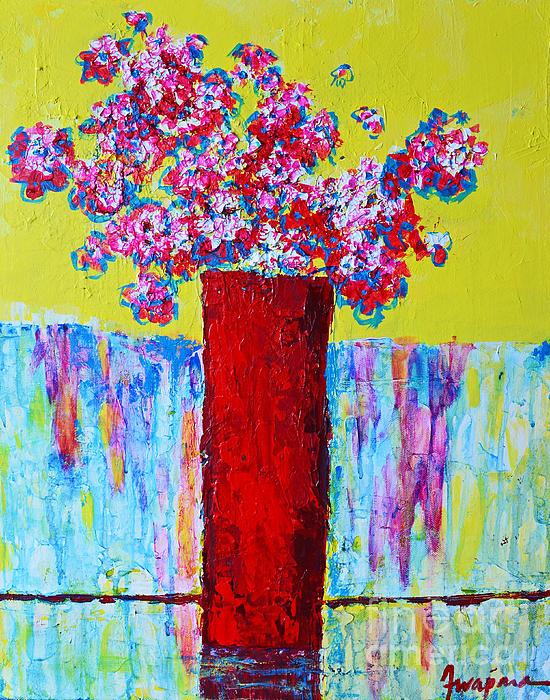 Patricia Awapara - Flowers from the Garden I