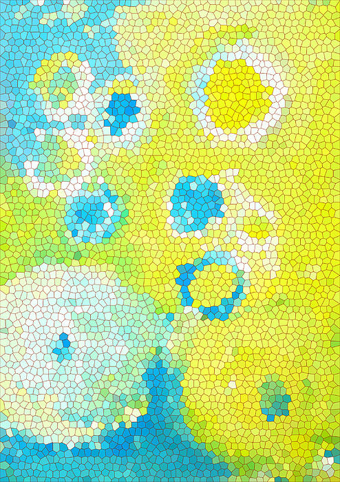 Flowers V Print by Patricia Awapara