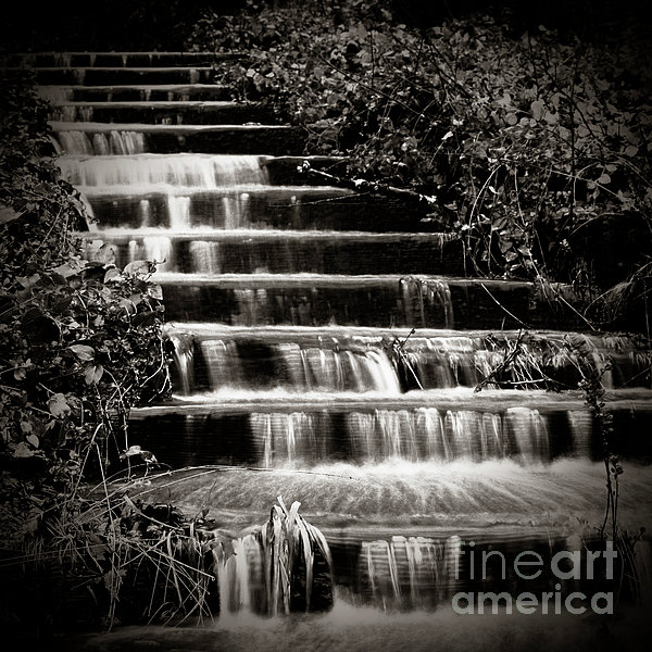 Flowing Stairs Print by Charmian Vistaunet