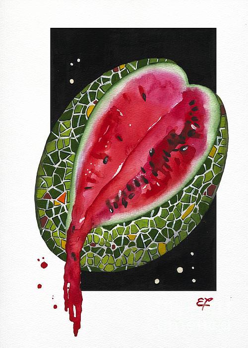 Fluidity 9 - Elena Yakubovich Print by Elena Yakubovich