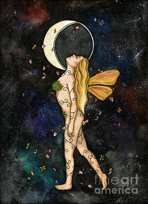 Fly By Night Print by Nora Blansett