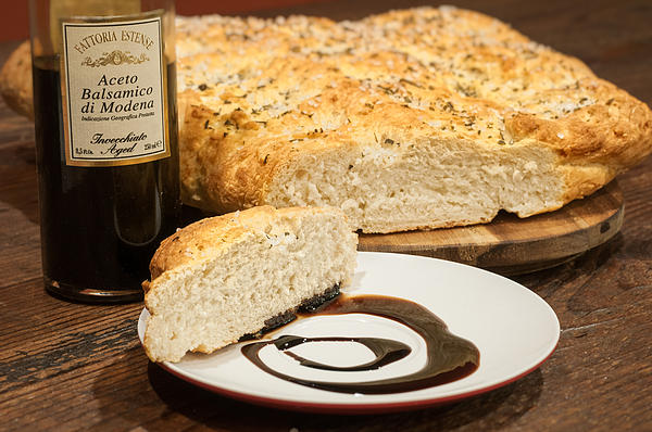 Andy Crawford - Focaccia bread with balsamic vinegar