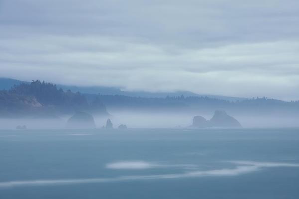 Mark Alder - Foggy Coastline