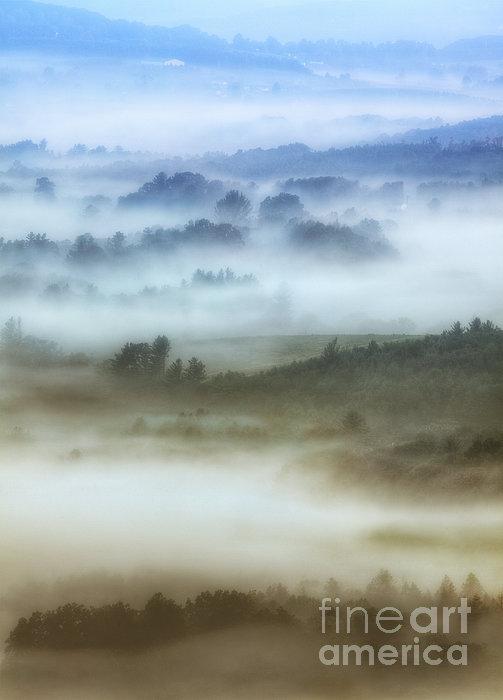Dan Carmichael - Foggy Flatlands - Blue Ridge Parkway