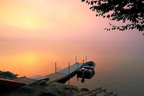 Barbara West - Foggy Sunrise