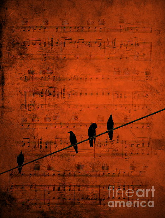 Follow The Music Print by Andrea Kollo