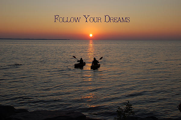 Follow Your Dreams Print by Aimee L Maher Photography and Art