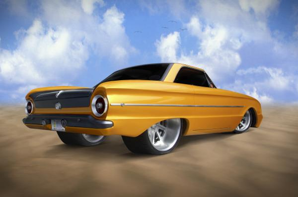 Ford Falcon Print by Mike McGlothlen