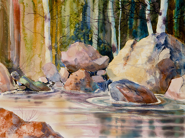 Teresa Ascone - Forest and River