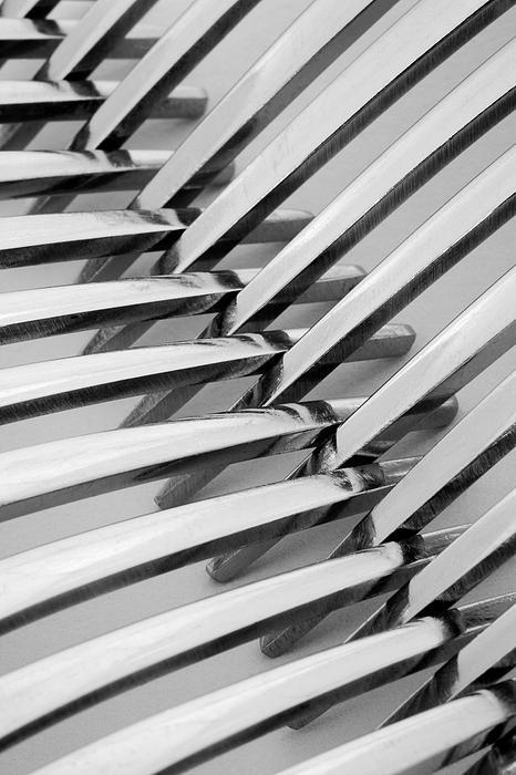 Forks I Print by Natalie Kinnear