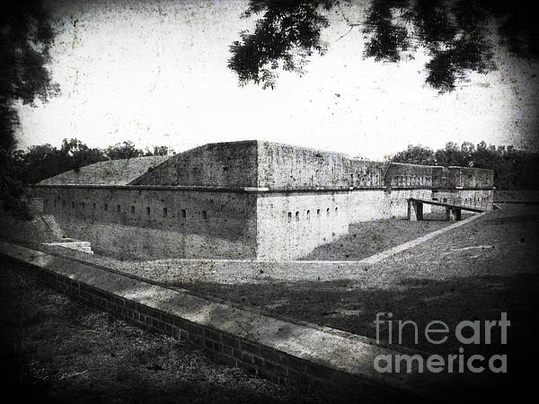 Tom Brickhouse - Fort Barrancas Faux Civil War Era Photograph