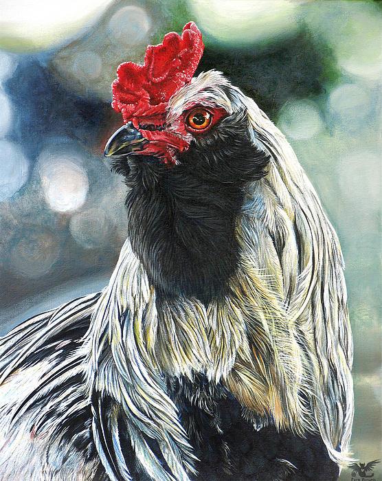 Fowl Martyr Print by Cara Bevan