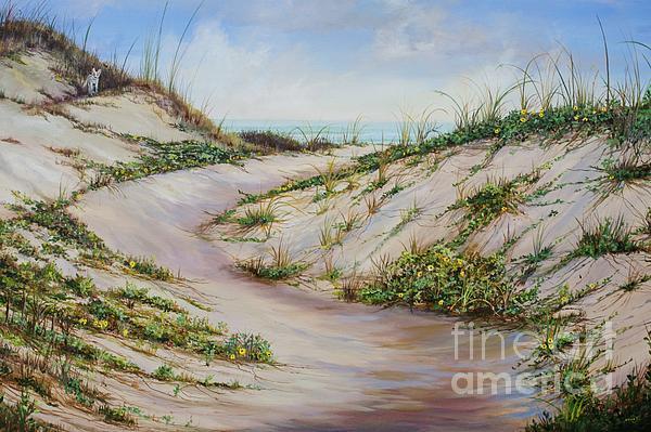 Fox Dunes Print by AnnaJo Vahle