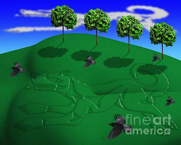 Fox Mound Print by Keith Dillon