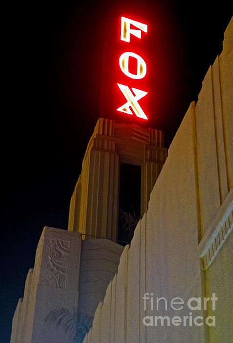Fox Theater - Pomona - 02 Print by Gregory Dyer