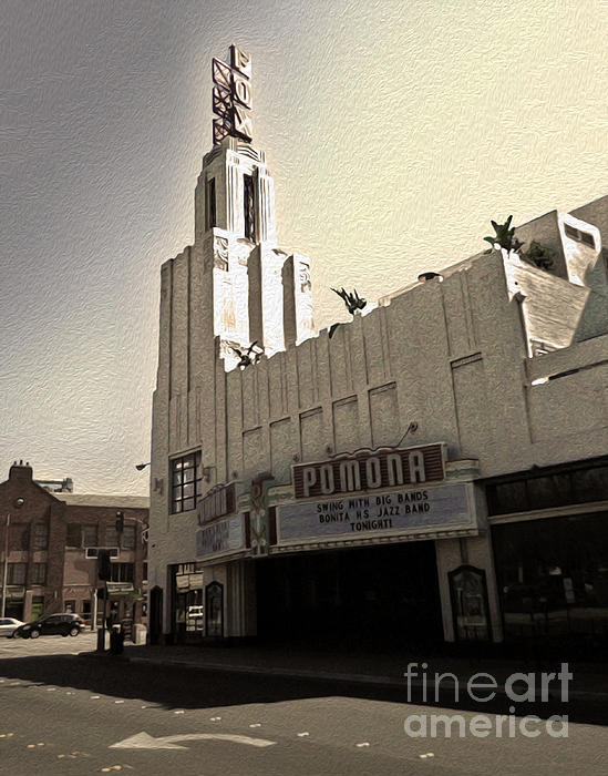 Fox Theater - Pomona - 05 Print by Gregory Dyer