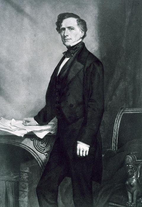 Franklin Pierce Print by George Healy